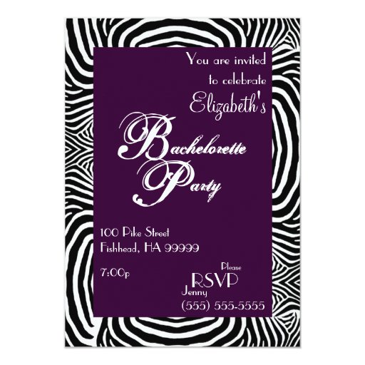 Invitación del fiesta 2 de Bachelorette de la