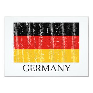 Invitación del fiesta de Alemania