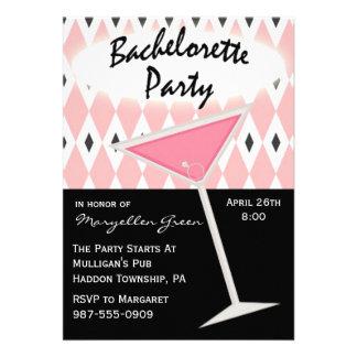 Invitación del fiesta de Bachelorette
