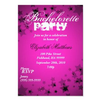 Invitación del fiesta de Bachelorette de las