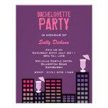 Invitación del fiesta de Bachelorette de las manza