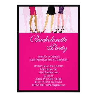 Invitación del fiesta de Bachelorette de los Invitación 12,7 X 17,8 Cm