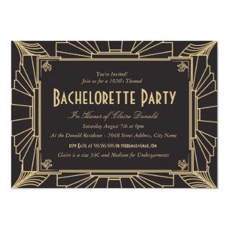 Invitación del fiesta de Bachelorette del estilo