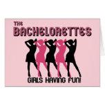 Invitación del fiesta de Bachelorette Felicitacion