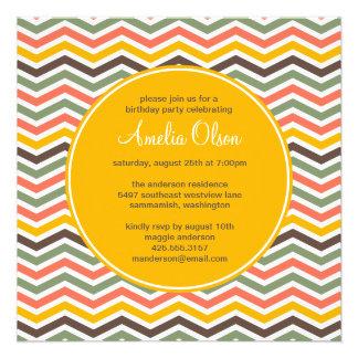 Invitación del fiesta de Chevron
