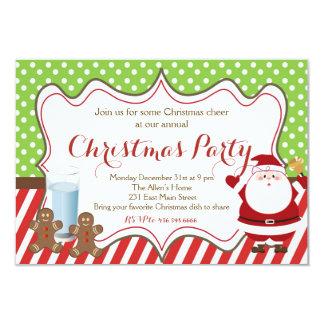 Invitación del fiesta de Chrismas
