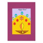 Invitación del fiesta de Diwali