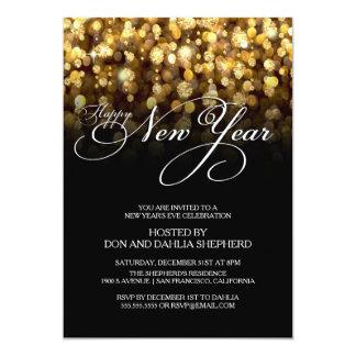 Invitación del fiesta de Eve de la Feliz Año Nuevo