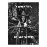 Invitación del fiesta de Halloween Invitación 12,7 X 17,8 Cm