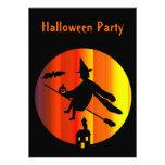 Invitación del fiesta de Halloween