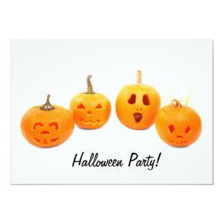 Invitación del fiesta de Halloween de la Invitación 12,7 X 17,8 Cm