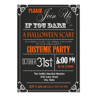 Invitación del fiesta de Halloween de la