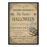 Invitación del fiesta de Halloween de las bebidas