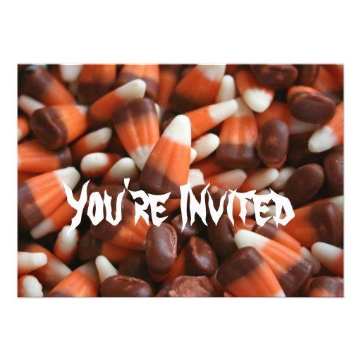 Invitación del fiesta de Halloween de las pastilla