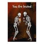 Invitación del fiesta de Halloween de los