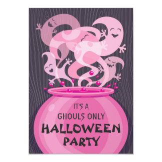 Invitación del fiesta de Halloween de los Invitación 12,7 X 17,8 Cm