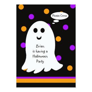 Invitación del fiesta de Halloween de los niños --
