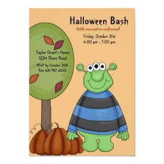 Invitación del fiesta de Halloween del