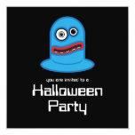 Invitación del fiesta de Halloween del manojo del