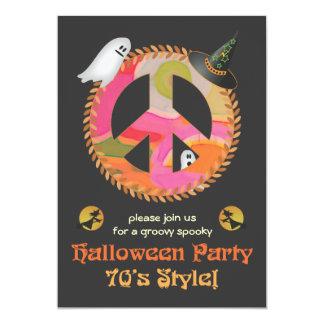 invitación del fiesta de Halloween del tema de los