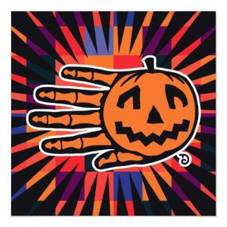 Invitación del fiesta de Halloween Jack