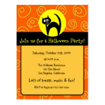 Invitación del fiesta de Halloween Postal