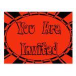 Invitación del fiesta de Halloween Postales