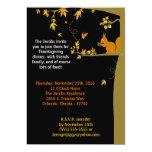 invitación del fiesta de la acción de gracias de invitación 12,7 x 17,8 cm