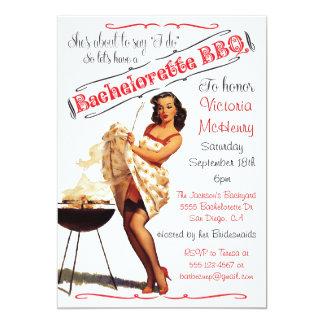 Invitación del fiesta de la barbacoa del Bbq de