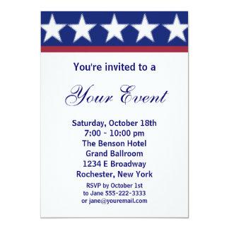 Invitación del fiesta de la campaña o 4ta del