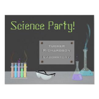 Invitación del fiesta de la ciencia