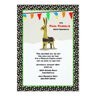 Invitación del fiesta de la fiesta del burro