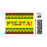 invitación del fiesta de la fiesta timbres postales