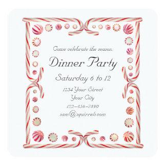 Invitación del fiesta de la hierbabuena