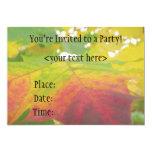 Invitación del fiesta de la hoja de arce