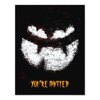Invitación del fiesta de la linterna de Jack O