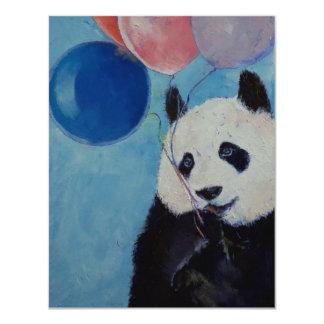 Invitación del fiesta de la panda