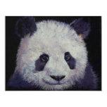 Invitación del fiesta de la panda del bebé