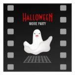 Invitación del fiesta de la película de Halloween