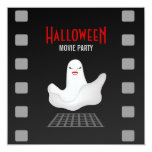 Invitación del fiesta de la película de Halloween Invitación 13,3 Cm X 13,3cm