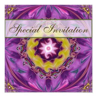 Invitación del fiesta de la regalía invitación 13,3 cm x 13,3cm
