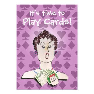 Invitación del fiesta de la tarjeta