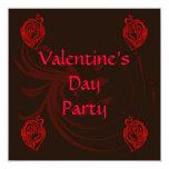 Invitación del fiesta de la tarjeta del día de San Invitación 13,3 Cm X 13,3cm