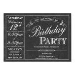 Invitación del fiesta de la tipografía de la