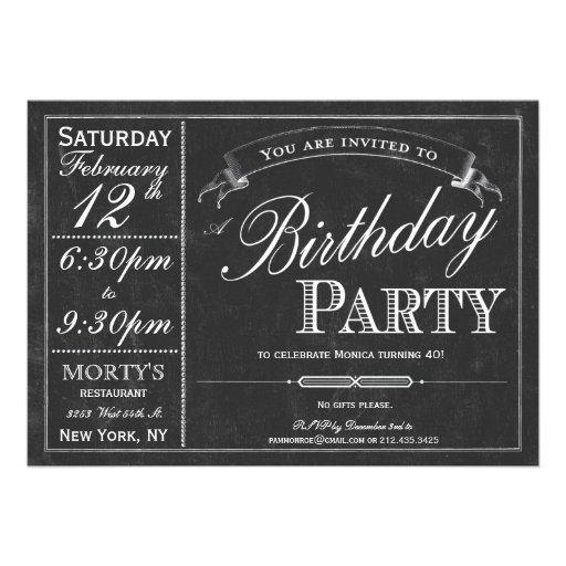 Invitación del fiesta de la tipografía de la pizar