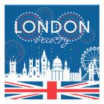Invitación del fiesta de Londres