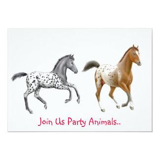 Invitación del fiesta de los caballos del