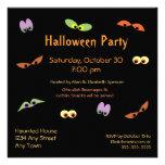 Invitación del fiesta de los espectros de Hallowee