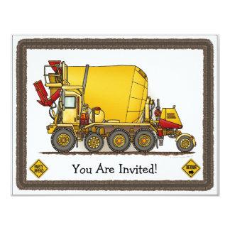 Invitación del fiesta de los niños del camión del