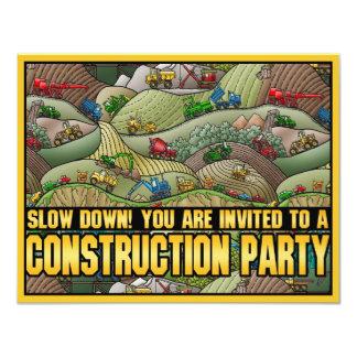 Invitación del fiesta de los niños del tema del invitación 10,8 x 13,9 cm